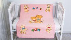 Baby nice Одеяло детское Семья медвежат