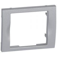 Лицевая панель Legrand Galea Life блока аварийного освещения алюминий 771341