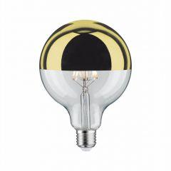 Paulmann Лампа светодиодная диммируемая E27 6W 2700К шар золотистый 28548