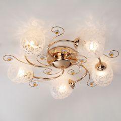 Потолочная люстра Оптима Roksana 9677/5 золото
