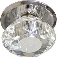 Точечный светильник Feron 17267 JD83S-CL G4 прозрачный, хром