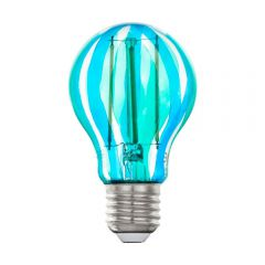 Лампа светодиодная Eglo E27 6,5W 5000K синяя 12569