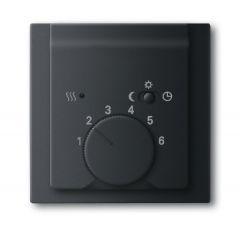 Лицевая панель ABB Impuls терморегулятора чёрный бархат 2CKA001710A3919
