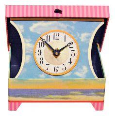 Timeworks Настольные часы (11x14 см) Beach Girls BCAB2S