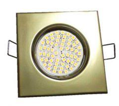 Точечный светильник LFlash 503 G литье поворотн. золото матовое G5.3 MR16