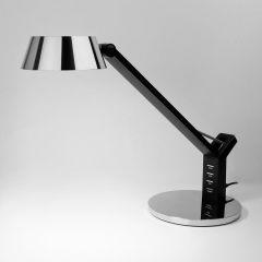 Настольная лампа Eurosvet Slink 80426/1 черный/серебро