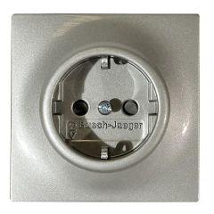 Розетка ABB Impuls Schuko с/з 16A 250V безвинтовой зажим шампань-металлик 2CKA002011A3791