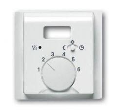 Лицевая панель ABB Impuls терморегулятора альпийский белый 2CKA001710A3733