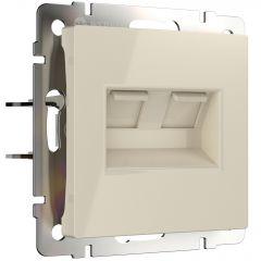 Werkel Розетка двойная Ethernet RJ-45 (слоновая кость) W1181103