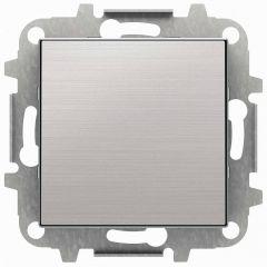 Лицевая панель ABB Sky заглушка нержавеющая сталь 2CLA850000A1401