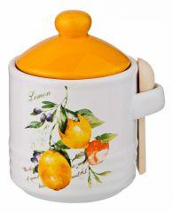 Lefard Банка для пищевых продуктов (8.4х11.1 см) Итальянские лимоны 230-270
