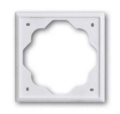 Рамка 1-постовая ABB Impuls альпийский белый 2CKA001754A4222