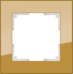 Werkel Рамка Favorit на 1 пост (бронзовый) WL01-Frame-01