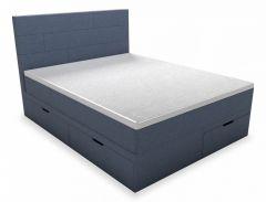 Belabedding Кровать двуспальная с матрасом и топпером Домино 2000x1600