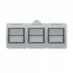 Коробка для накладного монтажа 3-постовая ABB Zenit IP55 N3293