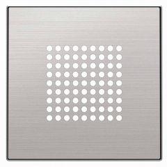 Лицевая панель ABB Sky динамика нержавеющая сталь 2CLA852900A1401