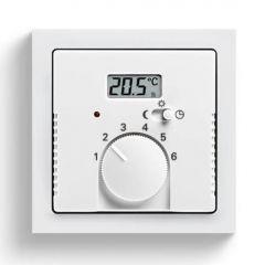 Лицевая панель ABB Zenit терморегулятора KNX альпийский белый 2CLA224040N1101