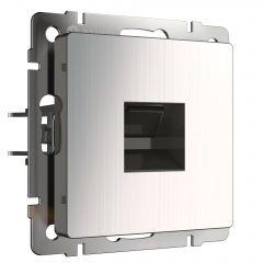 Werkel Розетка Ethernet RJ-45 (глянцевый никель) W1181002