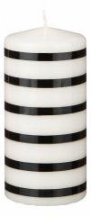 АРТИ-М Свеча декоративная (7x15 см) Black & white 348-566