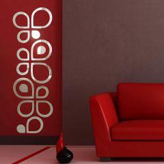 Декор настенный Ваша Светлость АКВА-4 хром 1-01401CR Комплект наклеек