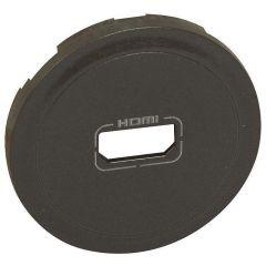 Лицевая панель Legrand Celiane розетки аудио/видео HDMI графит 067816