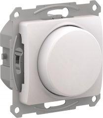 Schneider Electric GLOSSA СВЕТОРЕГУЛЯТОР (диммер) повор-нажим, LED, RC, 315Вт, мех., ПЕРЛАМУТР