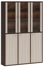 Merdes Шкаф-витрина Домино СУ(ш3в2)+3ФГ+3ФС
