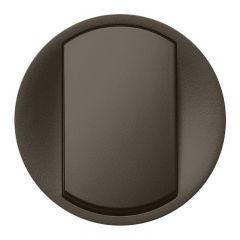Лицевая панель Legrand Celiane выключателя одноклавишного графит 067921
