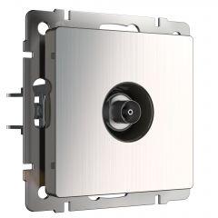 Werkel ТВ розетка оконечная (глянцевый никель) W1183002