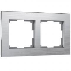 Werkel Рамка на 2 поста (алюминий) W0021706