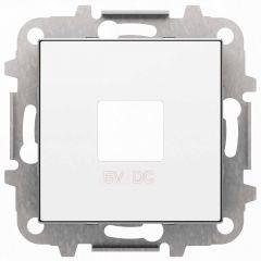 Лицевая панель ABB Sky розетки USB альпийский белый 2CLA858500A1101