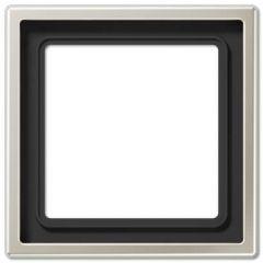 Рамка 1-постовая Jung LS 990 edelstahl ES2981