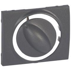 Лицевая панель Legrand Galea Life переключателя вентиляции темная бронза 771257