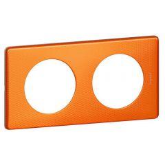 Рамка 2-постовая Legrand Celiane оранж пунктум 068762