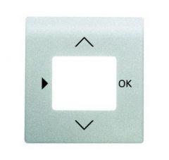 Лицевая панель ABB Impuls таймера серебристо-алюминиевый 2CKA006430A0342