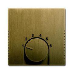 Лицевая панель ABB Dynasty терморегулятора латунь античная 2CKA001710A4087