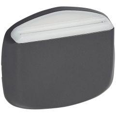 Лицевая панель Legrand Celiane выключателя карточного графит 067909