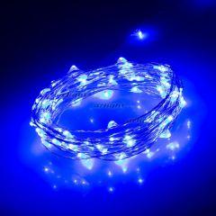 Светодиодная гирлянда ARD-CLASSIC-DEW-5000-CLEAR-100LED-STD Blue (12V, 2.1W) ( Ardecoled , IP65)