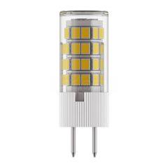 Lightstar Лампа светодиодная G4 6W 3000K кукуруза прозрачная 940412
