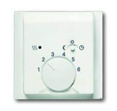 Лицевая панель ABB Impuls терморегулятора белый бархат 2CKA001710A3924