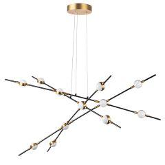 Подвесная светодиодная люстра Lightstar Bergamo 745247