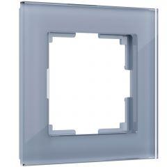 Werkel Рамка на 1 пост (серый,стекло) W0011115