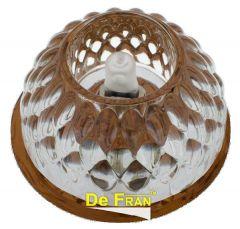 Точечный светильник De Fran FT 9281 BR зеркальный + чайный G9 1 x 40 вт