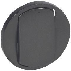 Лицевая панель Legrand Celiane выключателя одноклавишного графит 067901