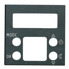 Лицевая панель ABB Zenit термостата антрацит N2240.5 AN