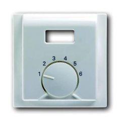 Лицевая панель ABB Impuls терморегулятора альпийский белый 2CKA001710A3706