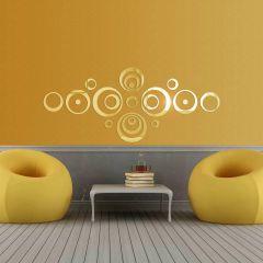 Декор настенный Ваша Светлость ОРБИТА-3 золото 1-00101FG Комплект наклеек