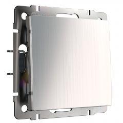 Werkel Выключатель одноклавишный проходной (глянцевый никель) W1112002