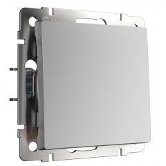 Werkel Выключатель одноклавишный (серебряный) W1110006