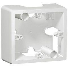 Коробка накладного монтажа 1-постовая Legrand Galea Life белая 771096